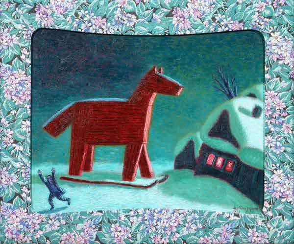 Троянский конь. Автор И. Шаймарданов